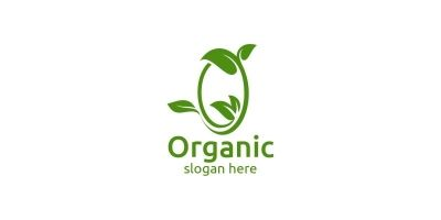 Natural and Organic Logo Design Template