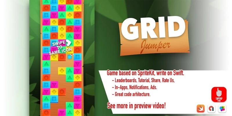 Grip Jumper - iOS Source Code