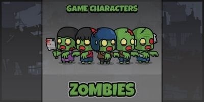 New Zombie - Game Characters