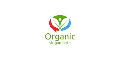 Chat Or Blog Natural And Organic Logo Design