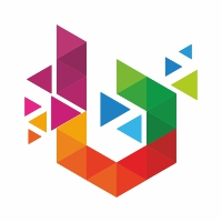 Betasoft B Letter Colorful Logo