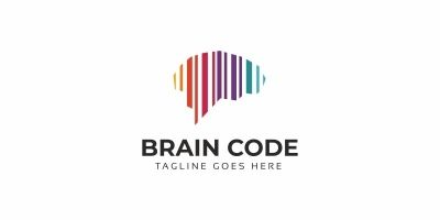 Brain Code Logo