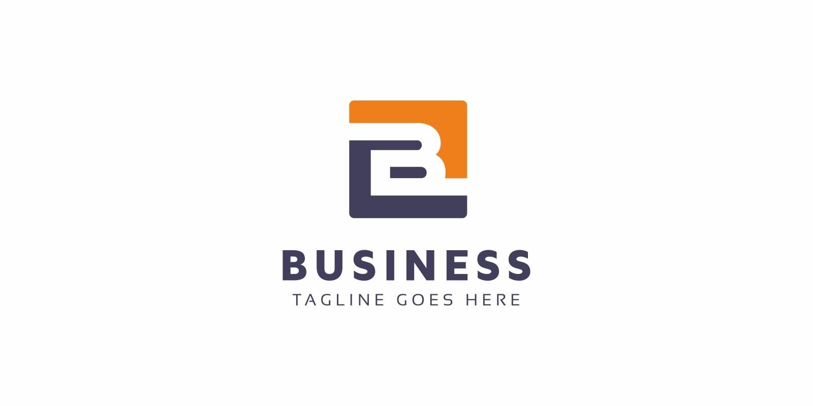 Business B Letter Logo