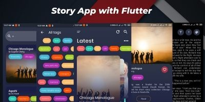 Story App With Flutter