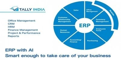 Tally India ERP eOffice CRM HRM Finance And Sales