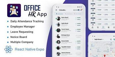 Office HR App - React Native App Template