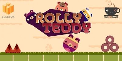 Rolly Teddy - Full Buildbox Game