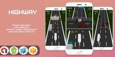 Highway - Buildbox 3 Template