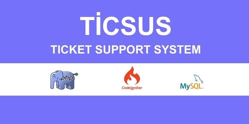 Ticsus Ticket Support System