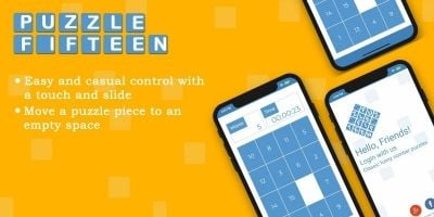 Puzzle Fifteen Number - Android Source Code