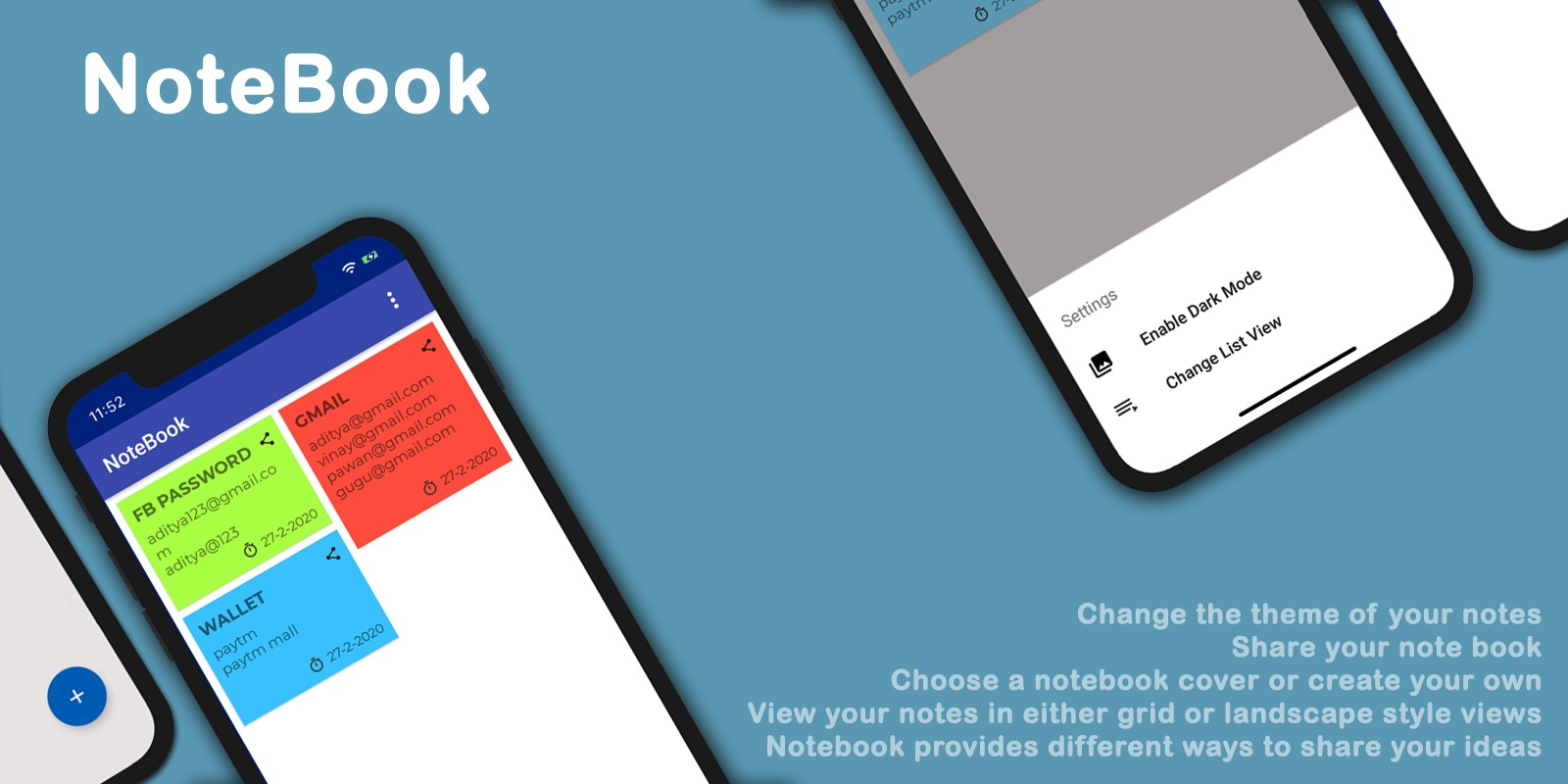 My Notebook - Android App Template