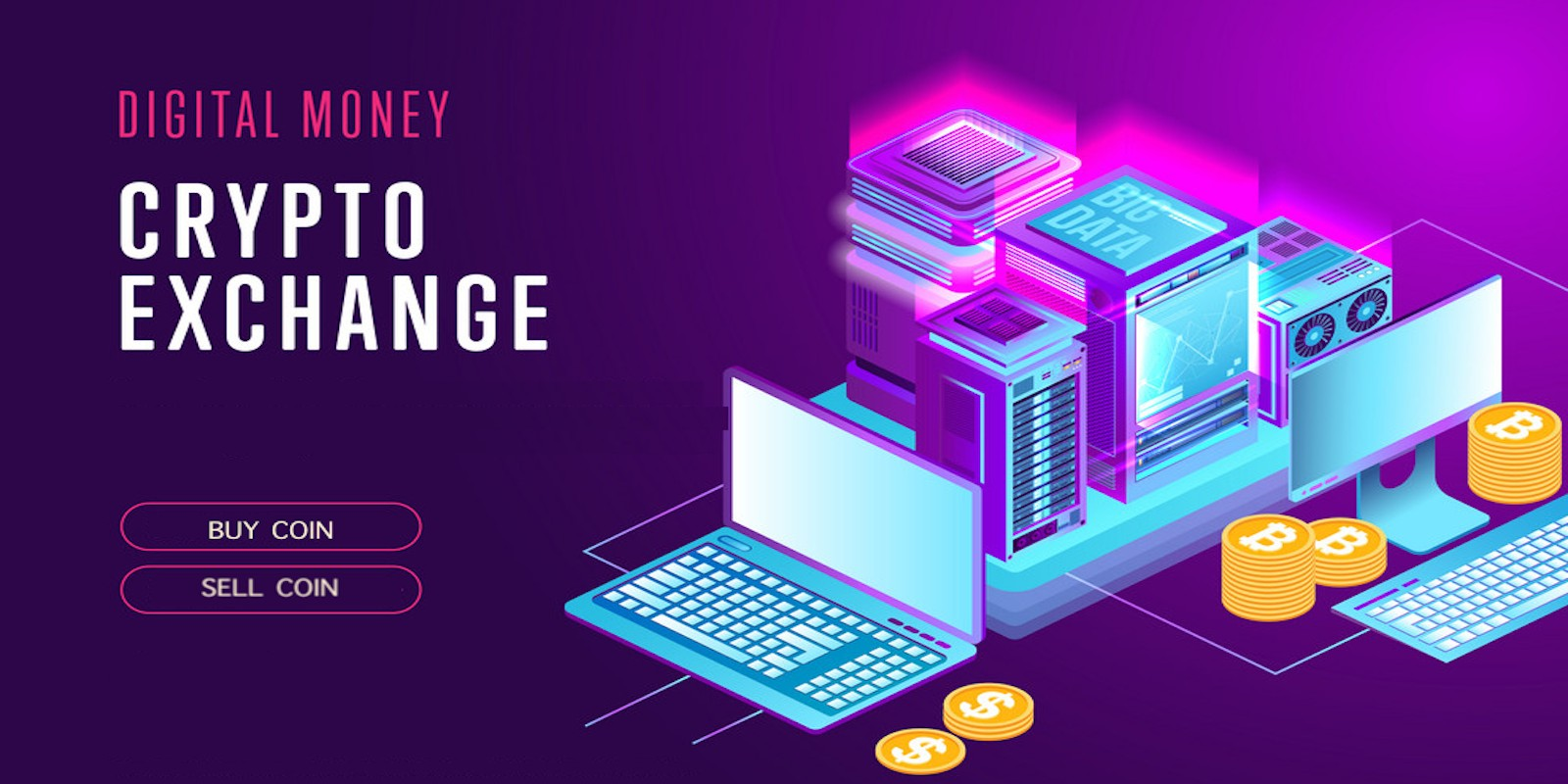 Digital Money Crypto Exchange System