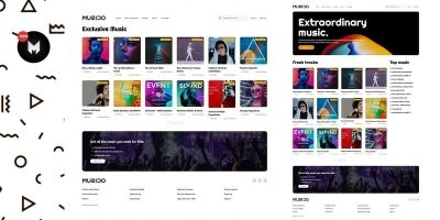 Musico - Premium Music Download Site HTML Template