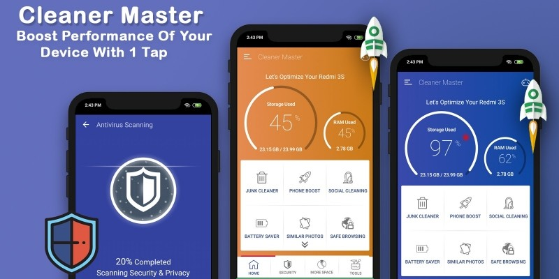 Cleaner Master - Android App Source Code