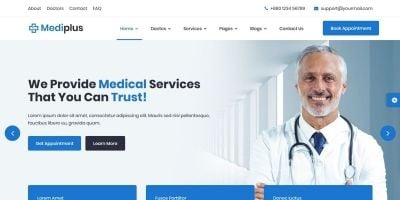 Mediplus - Medical and Doctor HTML Template