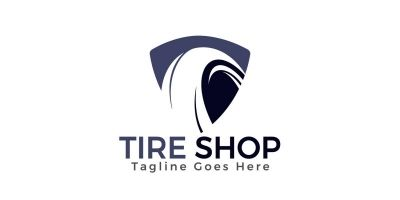 Tire Shop Logo Design