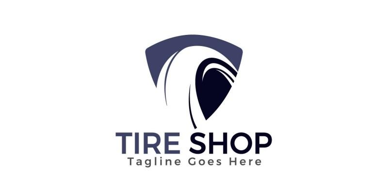 Tire Shop Logo Design