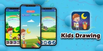 Kids Learning Android App Source Code