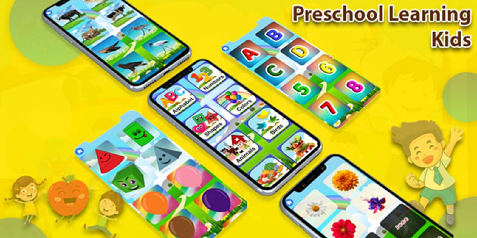 Preschool Learning Kids - Android Source Code