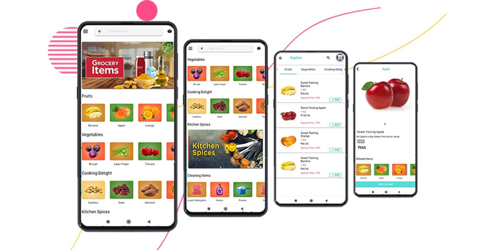 Grocery - Ionic App Theme