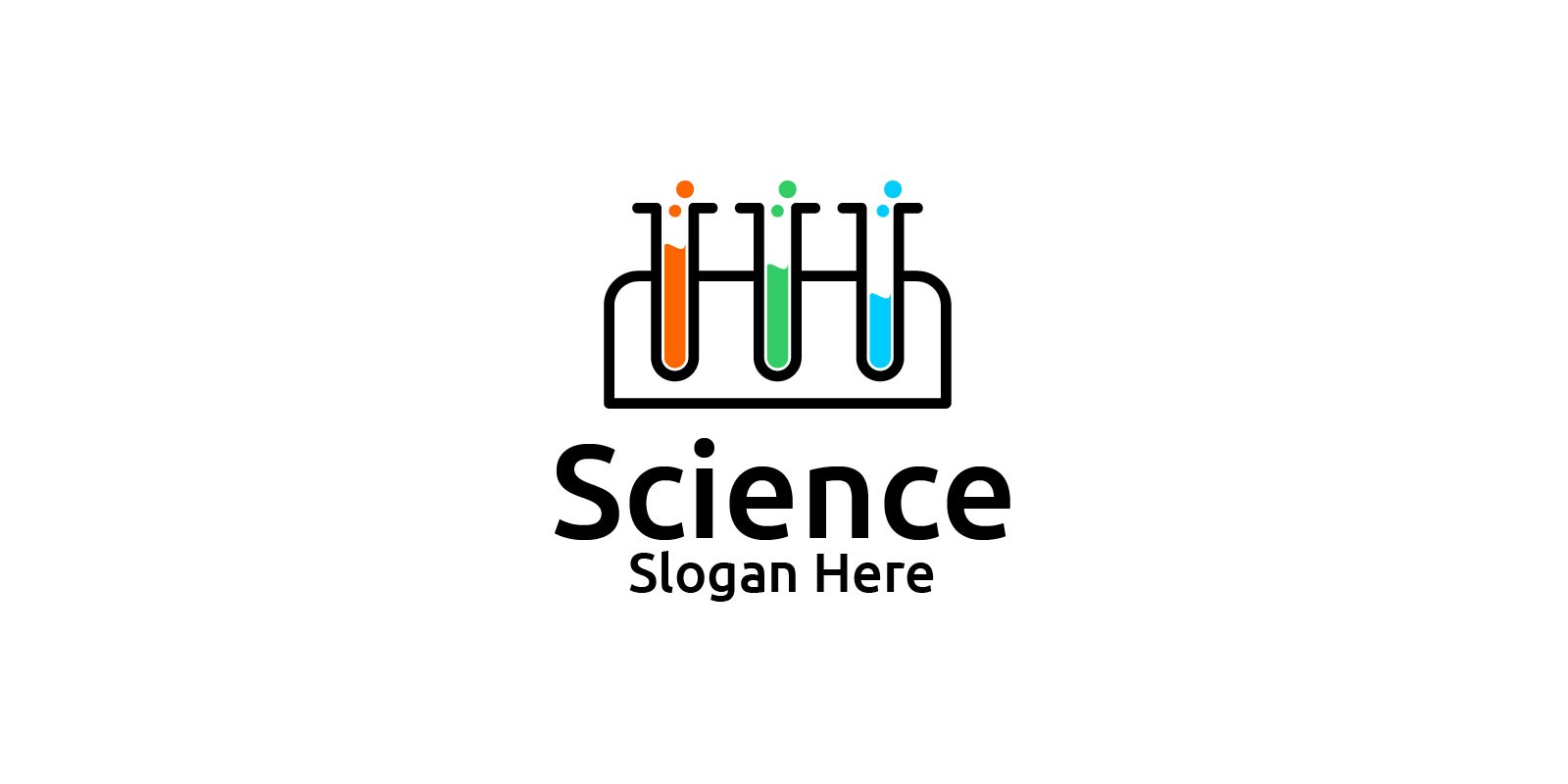 Science and Research Lab Logo Design