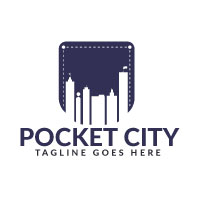 Pocket City Logo Design