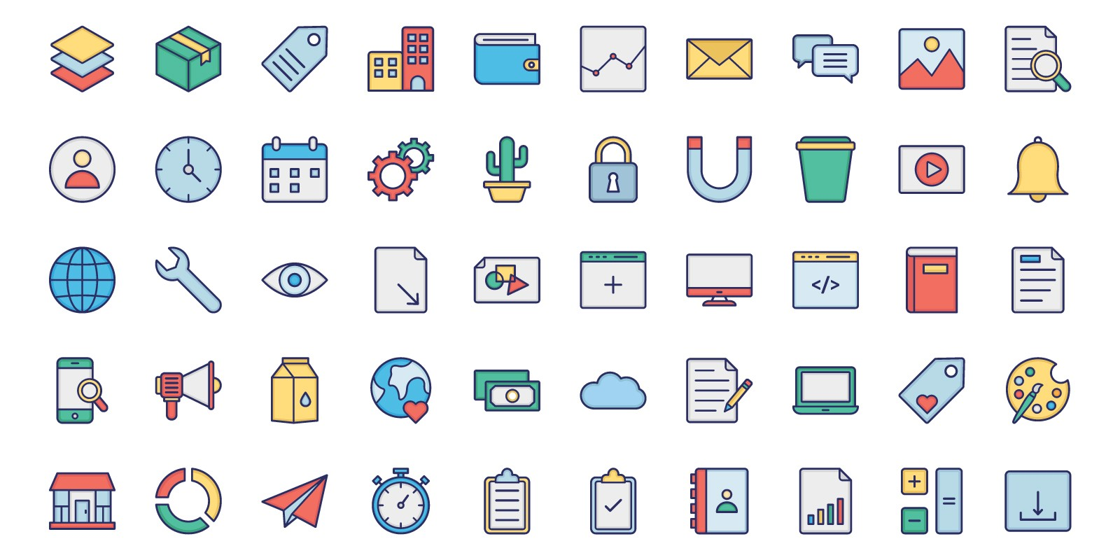 User Interface Design Vector Icons