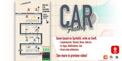 Car Factory - iOS Source Code