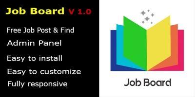 Job Board PHP Script