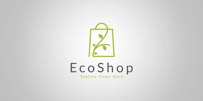 Eco Shop Logo Template