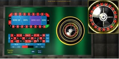 Ultimate Roulette JavaScript