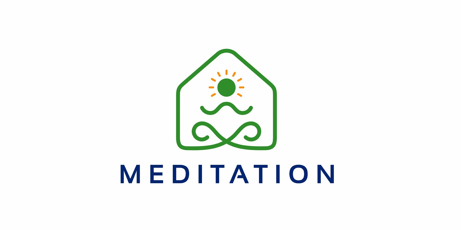 meditation logo by smg codester meditation logo by smg codester