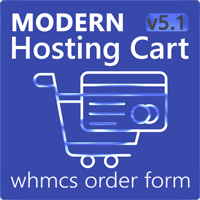 Modern Hosting Cart - WHMCS Order Form Template