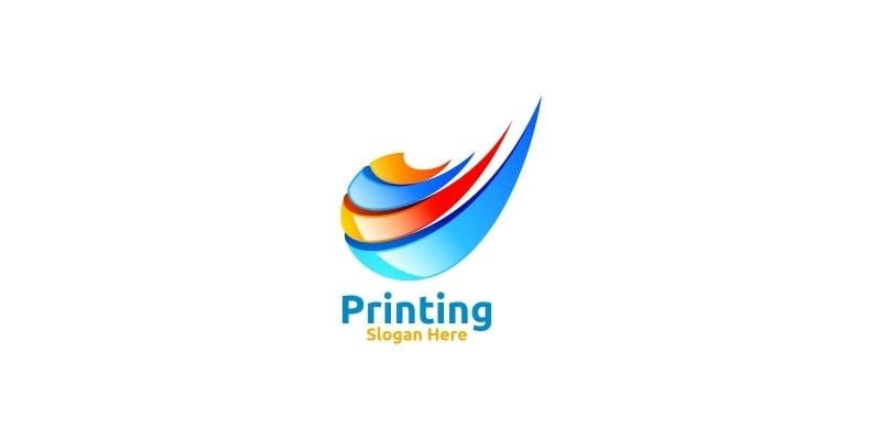 Digital Printing Company Logo Design