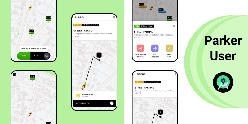 Parker User UI Kit For Android Studio