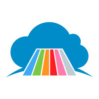 Cloud Printing Company Logo Design