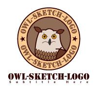 Owl Sketch Logo