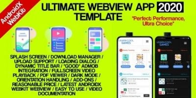 Ultimate Webview App Template Android