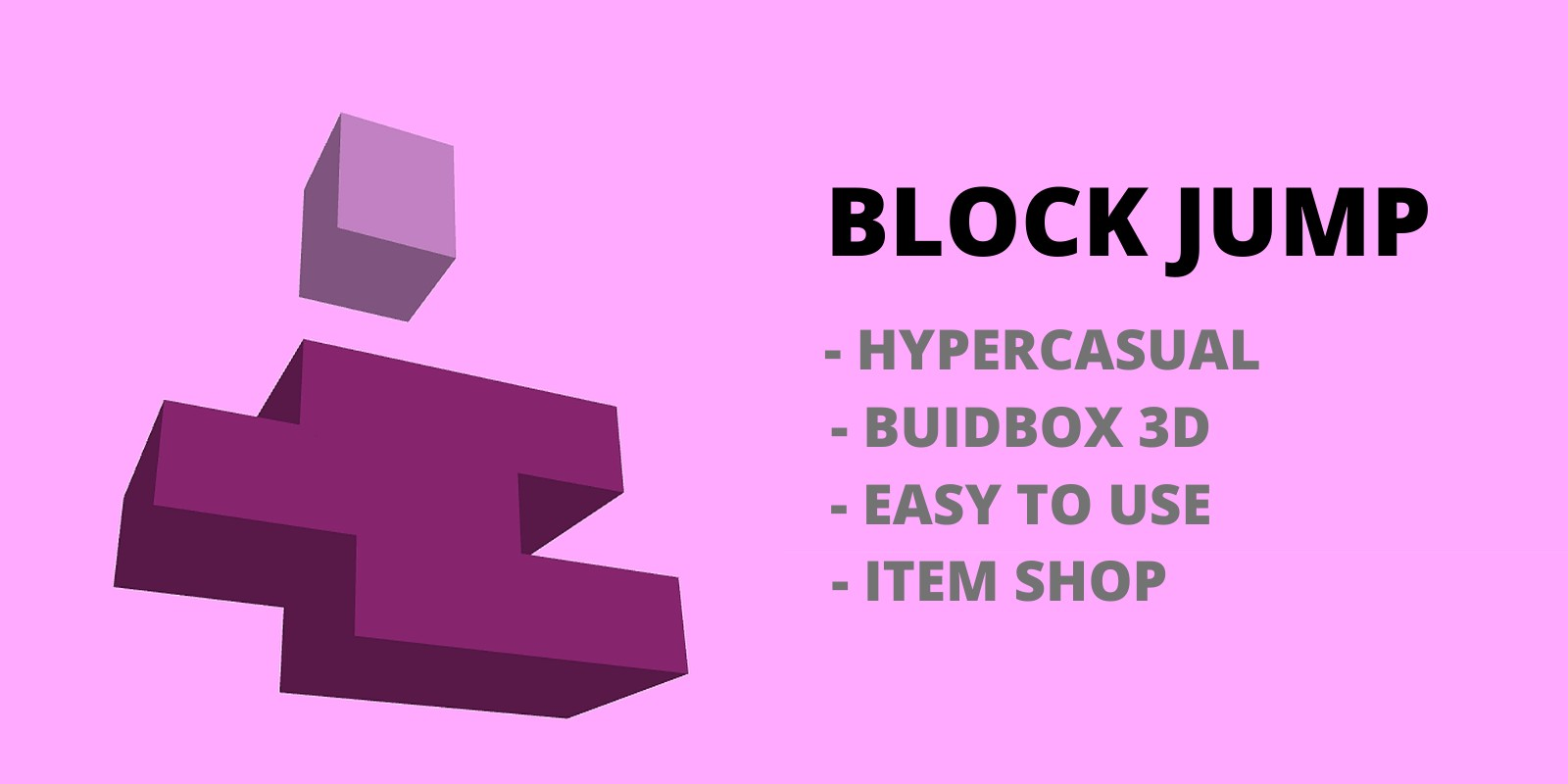 Block Jump - Buildbox template