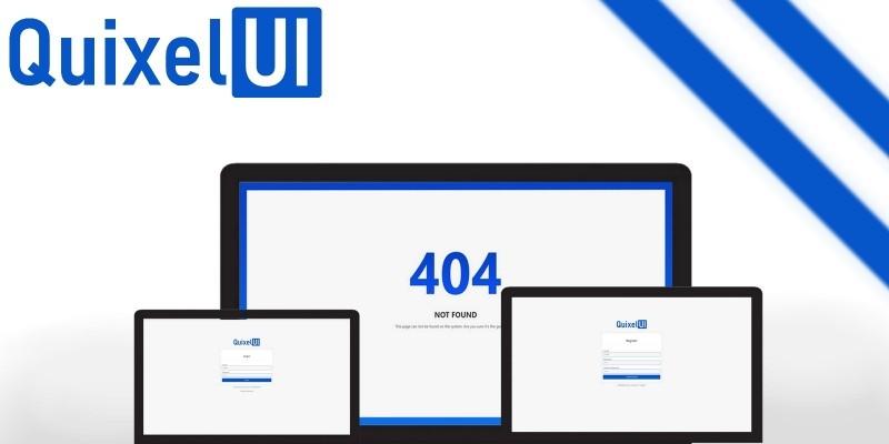 QuixelUI - Three CSS UI Template