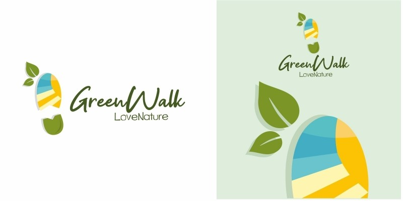 Green Walk Logo