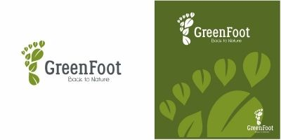 Green Foot Logo