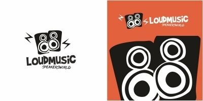 Loud Music Speakers Logo