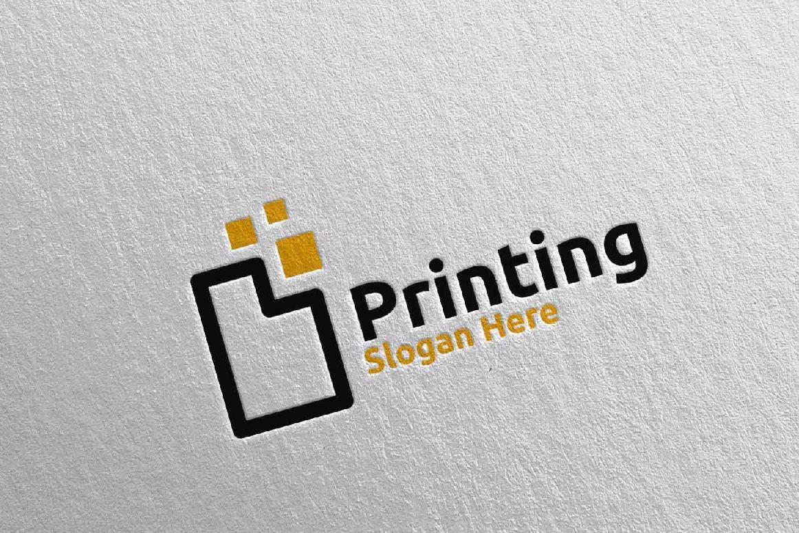 Paper Printing Company Logo Screenshot 5