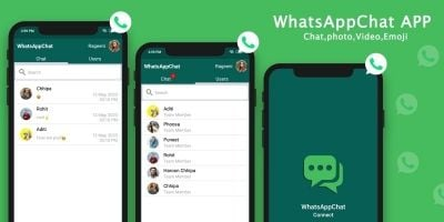 WhatsAppChat - Android Chatting App Source Code