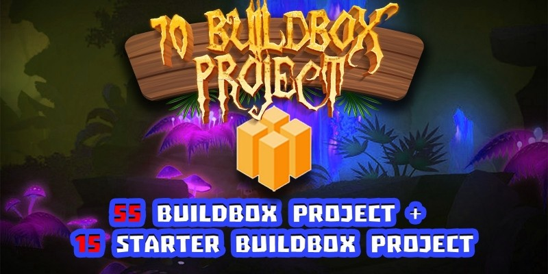 Hobiron 70 Buildbox 2 Project Mega Bundle
