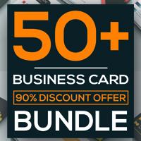 50 More Professional Business Card Design Bundle