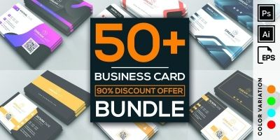 50 More Professional Business Card Design Bundle