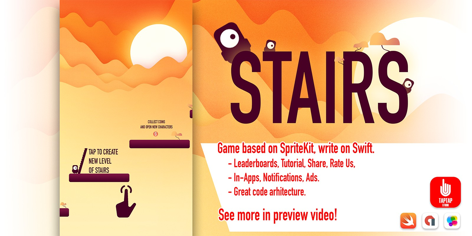 Stairs - iOS Source Code