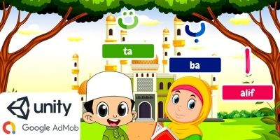 Hijaiyah Alphabet For Kids Unity Game